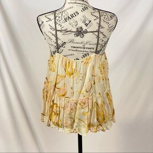 HD in Paris Anthro Joselyn Tank Blouse Size Small